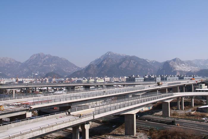 溫州繞城高速公路北線一標橋梁上部結構工程
