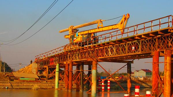 湖州綜合交通樞紐至11省道連接線工程三標