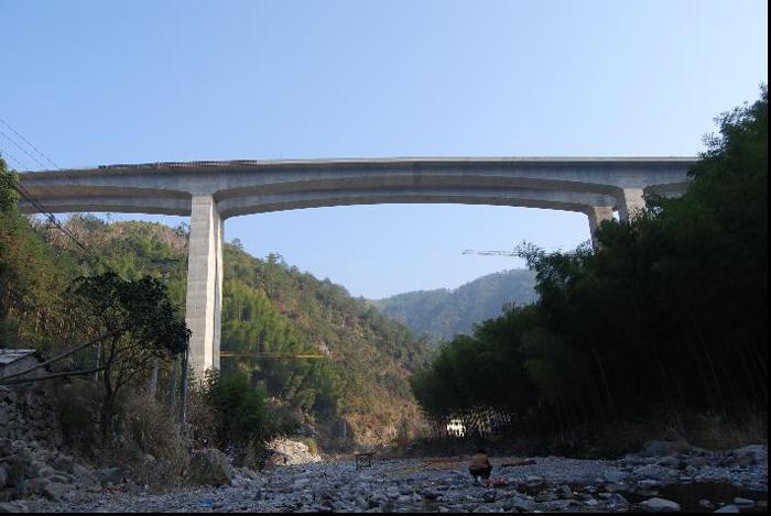 諸永高速公路溫州段二標